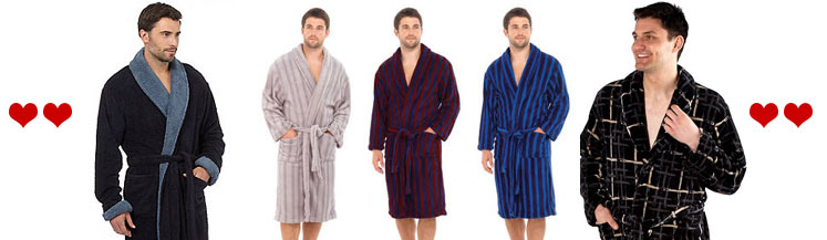 Mens Dressing Gowns | Mens Bath Robes |